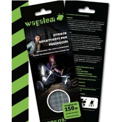 Wagalum - Reflective stripes strollers and prams - Damblè