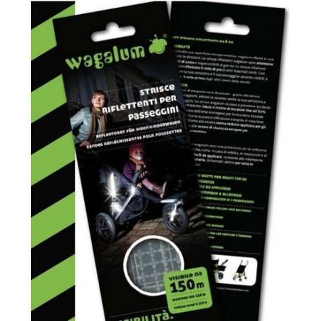 Wagalum - Reflective stripes strollers and prams - Damblè