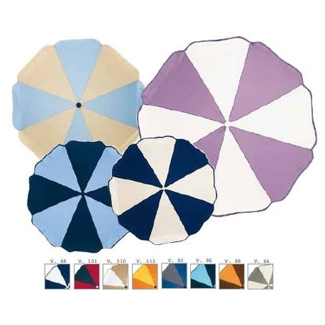 Two-tone stroller umbrella Picci anti UVA