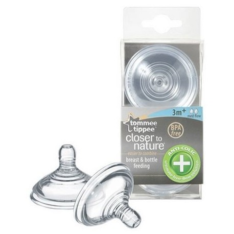 Tettarelle anticolica flusso lento 3m+ Tommee Tippee