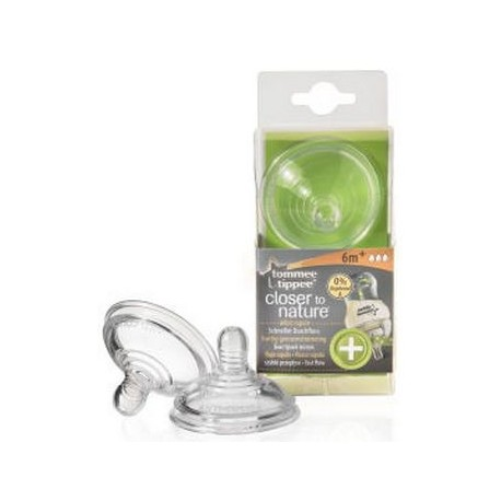Tettarelle anticolica flusso veloce 6m+ Tommee Tippee