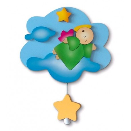 Carillon Mini Rainbow Angel Flying Azur