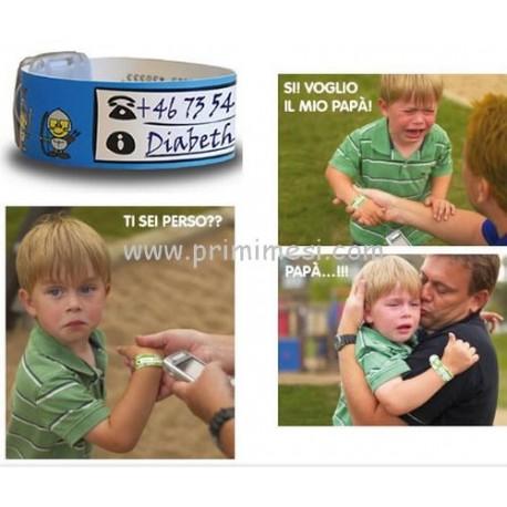 Damble Infoband Children's Id Bracelets