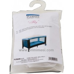 Fly mosquito net for travel cot Plebani