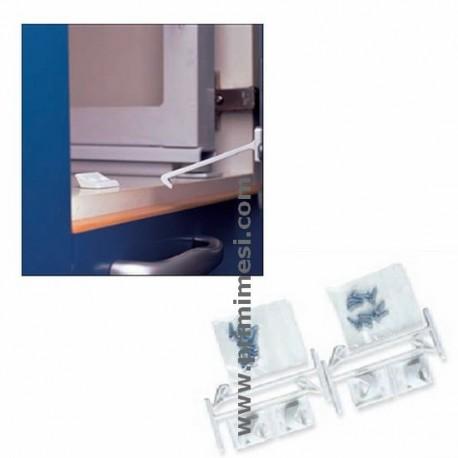 Lock 4pz drawers brevi