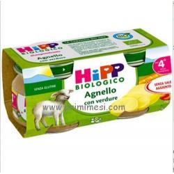 Omogeneizzato Agnello con verdure Hipp