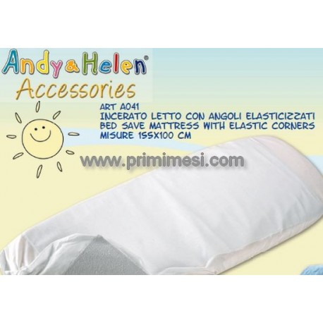 Mattress cover for sunbeds with waxed canvas Andy & Helen