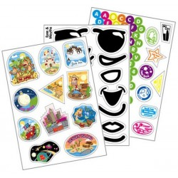 Sticker Pack to decorate trunki suitcase
