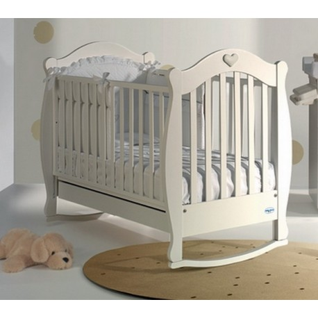 Baby cot with rocking Susy Baby Italia mattress free