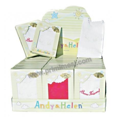Camicina della fortuna in seta ricamato giro manica Andy & Helen