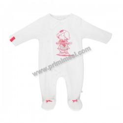 Noukie's White Baby Tutina in Veloudoux
