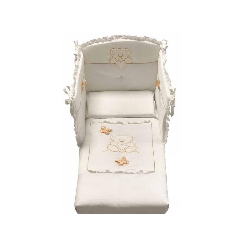 Cameretta con lettino e bagnetto fasciatoio Sophia Azzurra Design ...